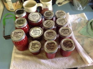 Raspberry Peach Preserves.